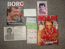 Joblot of Boro / Middlesbrough Memorabelia 4 match Tickets inc. Sunderland 1971+