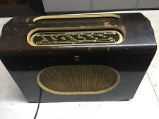 Vintage Valve Radio,Compact,Ferranti 515,c1951,Working Well,Electronic Work Done