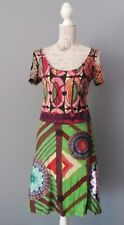 DESIGUAL Kleid Robe Dress Vestido Gr. L echter Hingucker