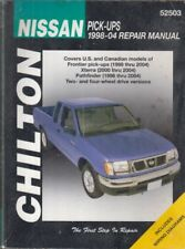 NISSAN PICK-UP & PATHFINDER 2.0 2.4 3.0 PETROL 1980 - 1995 OWNERS REPAIR MANUAL