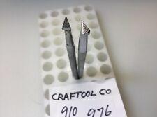 2 Vintage Leather Tools Craftool Co (1963) # 910,976