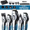 11-In-1 Men Electric Hair Clipper Trimmer Shaver Beard Rechargeable Grooming Kit