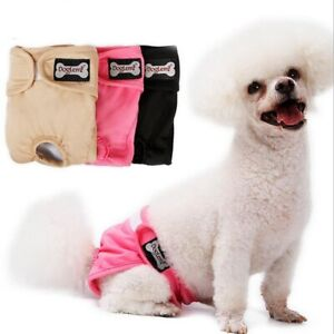 Washable Female Dog Belly Band Wrap Waterproof Female Pet Diapers