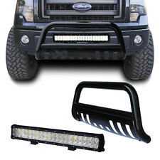 Bull Bar Bumper Grill Guard+126W CREE LED Light For F-150 04-17/Expedition 03-17