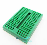 170 Tie-points Mini Solderless Prototype Breadboard for Arduino Green NEW