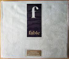FABLE ONE Oxford Pillowcase CALLISTA DUCK EGG New