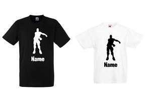 Personalised Men's Floss Dancer Fort Standard Fit Nite Super Premium T-shirt