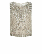 Monsoon Artisan Oberon Embroidered Top Size 14 rrp £99 Box26 01 F