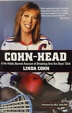 Linda Cohn Signed Cohn-Head Autobiography Book ESPN SPORTCENTER LCO Exclusive