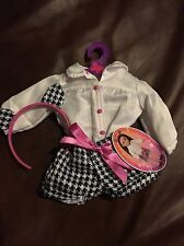 "`NEW My Life 18"" Doll Clothes Fits American Girl Houndstooth OUTFIT"
