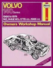 Volvo 142, 144 & 145 (66 - 74) Haynes Repair Manual