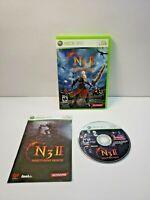 Ninety-Nine Nights II N3 II (Microsoft Xbox 360, 2010) with Manual TESTED
