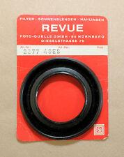 """* PARALUCE """" REVUE """"  IN GOMMA RETRATTILE : Diametro innesto a vite 49mm."""