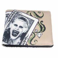 DC Comics Suicide Squad Joker Character Bi-Fold Wallet