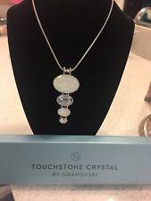 touchstone crystal swarovski Glazed Pendant
