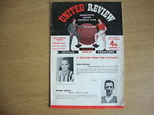 1960/1 Manchester United v Exeter City - League Cup 1st Round Replay - 1st at OT