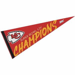 KC Chiefs NFL Super Bowl Champions Pennant