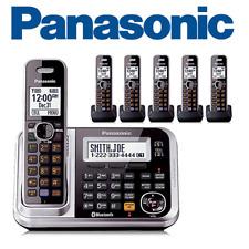 Panasonic KX-TG7876S 6 Handset Cordless Phone DECT 6.0