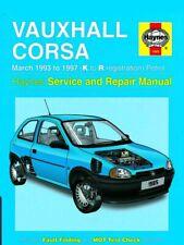 1985 Vauxhall Corsa 1.2 1.4 1.6 Petrol 1993-97 (K to R Reg) Haynes Manual