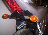 R&G Tail Tidy / Licence Plate Holder Suzuki SV1000 Unfaired 2004 LP0010BK Black