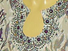 BEREK(Neiman Marcus) FloralNetJewelledTunic SizeM rrpUS$75