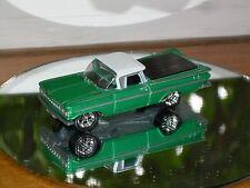 JOHNNY LIGHTNING 59 CHEVY EL CAMINO DIE CAST CAR 1/64 1959 CHEVROLET GREEN