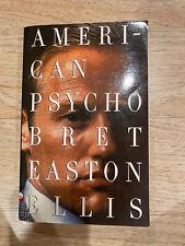 (g22j) Vintage Contemporaries Ser.: American Psycho Bret Easton Ellis 1991