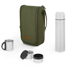VonShef Adventure Picnic Flask Bag, Insulated Picnic Thermal Bag, 2 Person