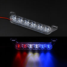 6LED Motorcycle Brake Tail Strobe Light Emergency Warning Decorative Flash Lamp