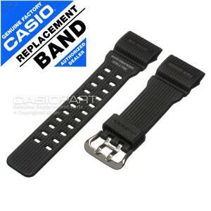 Genuine Casio Watch Band f/ Master of G-shock Mudmaster GG-1000RG-1A Black Strap