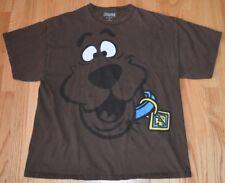 Scooby Doo T Shirt Hanna Barbera Dog Great Dane Cartoon Brown Size L Hip Hop