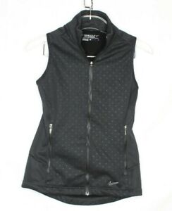 Nike Golf Tour Performance Black Therma-Fit vest women's size S