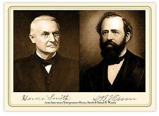 SMITH & WESSON Arms Makers & Entrepreneurs Autographs Cabinet Card Photograph RP