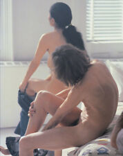 John Lennon and Yoko Ono UNSIGNED photograph - L2317 - Getting naked!!!!!!