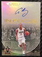 2017-18 Panini Vanguard Avery Bradley In Focus Auto 18/49