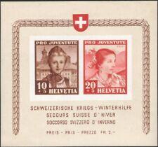 SWITZERLAND, 1941. Charity Souvenir Sheet B116, Mint