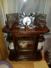 Mini Vintage Victorian Style Wall or Shelf/Mantle Curio Cabinet