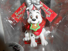 DISNEY 101 DALMATIONS CHRISTMAS HOLIDAY ORNAMENT PUP PUPPY DOG HOUSE ENESCO