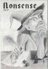 Hofstra University Student Humor Magazine 'Nonsense '- April 1989 Issue