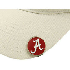 ALABAMA Hat / Cap Clip with Double Sided Golf Ball Marker - 2 PACK DEAL