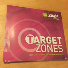 ZUMBA Fitness - Target Zones (Three 3 DVD SET) BRAND NEW & FACTORY SEALED !!!