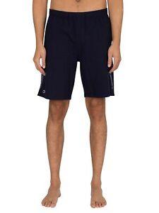 Lacoste Men's Lounge Side Branding Sweatshorts, Blue