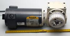Getriebemotor von Baldor, 12V - 180V/DC, 5A, 3200U/min, Schneckengetriebe i=40:1