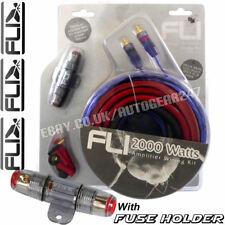FLI AK4 4 JAUGE 2000W voiture complet amplificateur Kit câblage avec