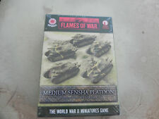 Flames of war  Japanese JBx02  Med.Sensha Platoon  Chi-ro