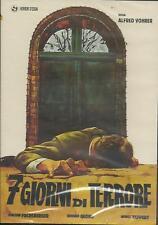 Sette giorni di terrore (1969) DVD