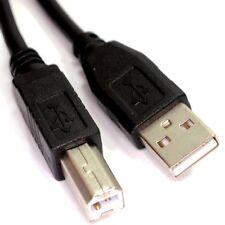 1m USB 2.0 ad Alta Velocità Stampante Cavo Piombo A a B Nero Schermato 28awg