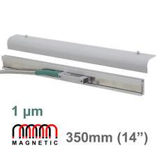 """350 mm 14"""" escala lineal 1μm Magnético codificador de lectura digital Mag DRO Molino Torno"""