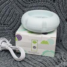 New Scentsy Mini Fan Diffuser Air Freshener USB Green Mint Color