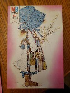 VINTAGE Holly Hobbie 60 Piece Puzzle Milton Bradley Age 4-8 1976 4676-1 Complete